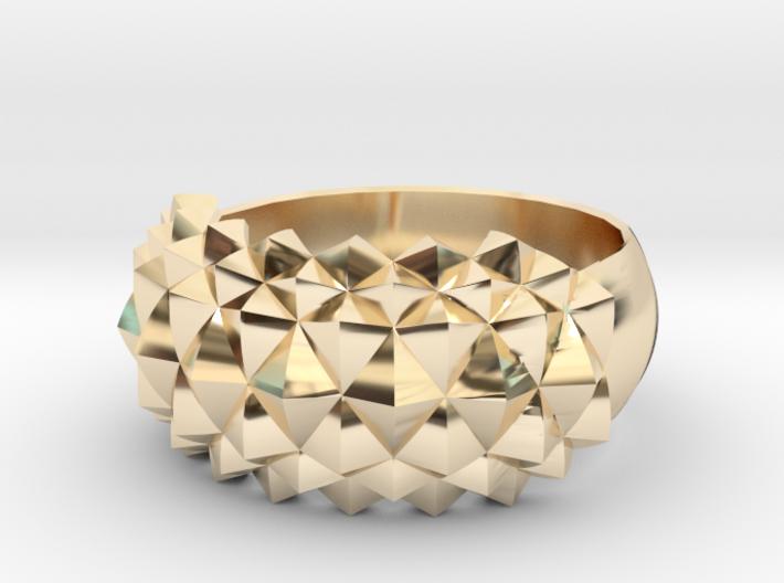 Studs Ring Sleek 3d printed