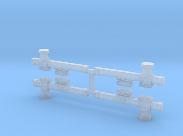 CA&E Third Rail Beam X4 3d printed