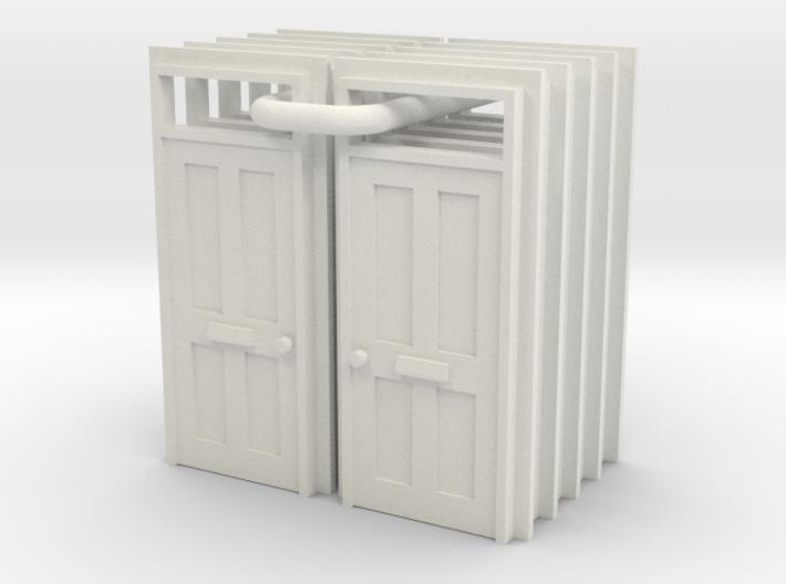 Type 15 Doors X 10 - 4mm 3d printed