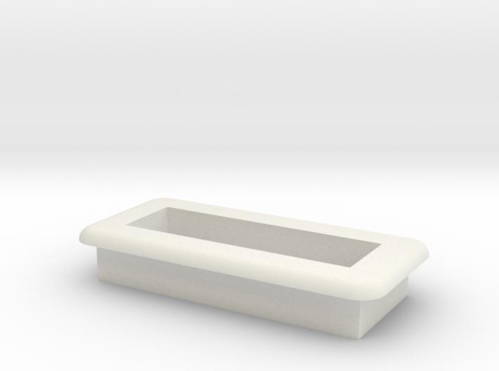 DNA Small Screen Bezel/Cradle - v2 3d printed