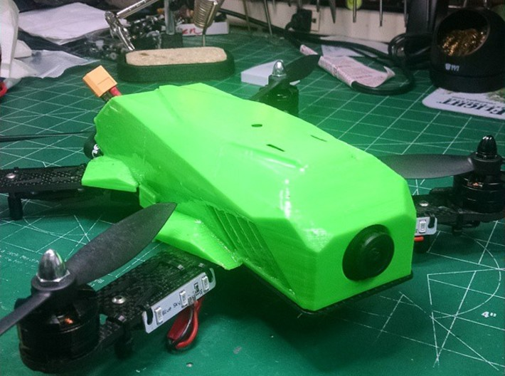 ehm250 body for mini 250 quadcopter 3d printed