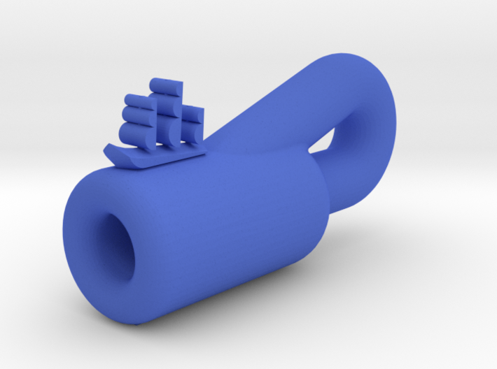 "Ship ""In"" A Klein Bottle 3d printed"