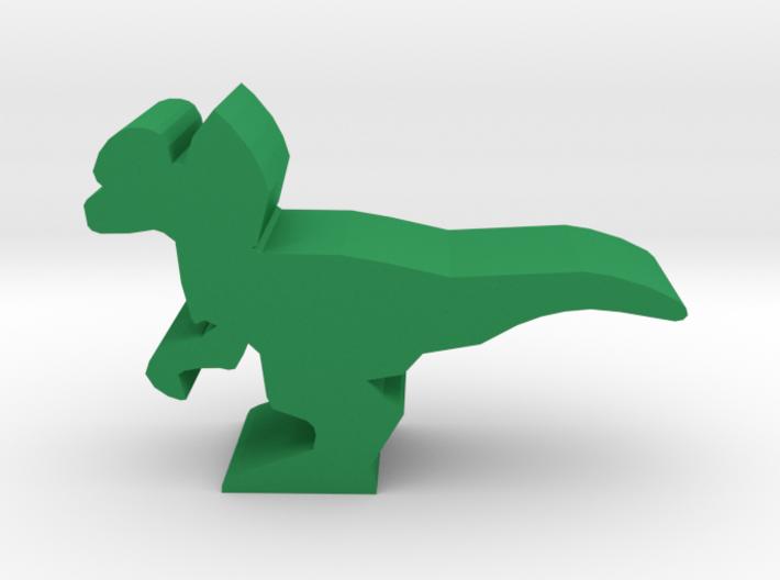 Dino Meeple, Dilophosaurus 3d printed