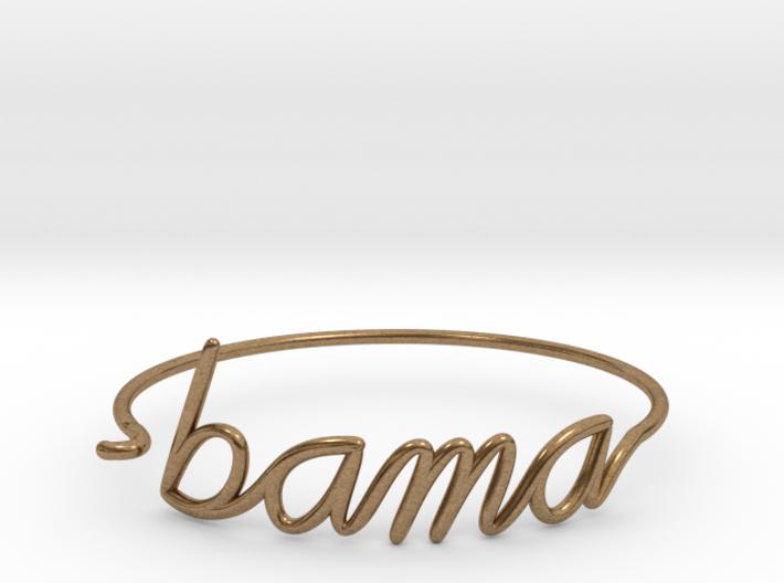 BAMA Wire Bracelet (Alabama) 3d printed
