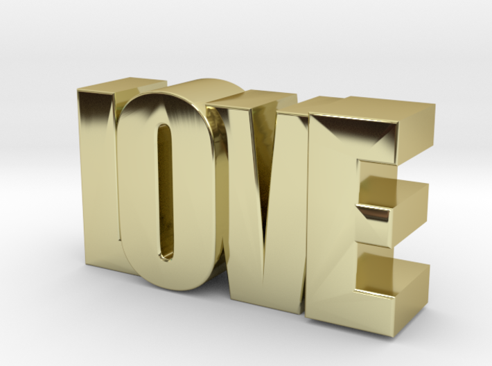 LOVE 2 touch 3d printed
