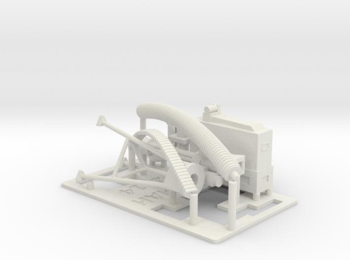 Mini Gun and mounts 1/18 3d printed