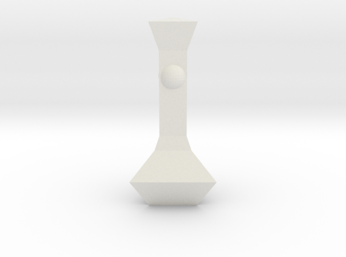 Chess Pawn Queen 3d printed