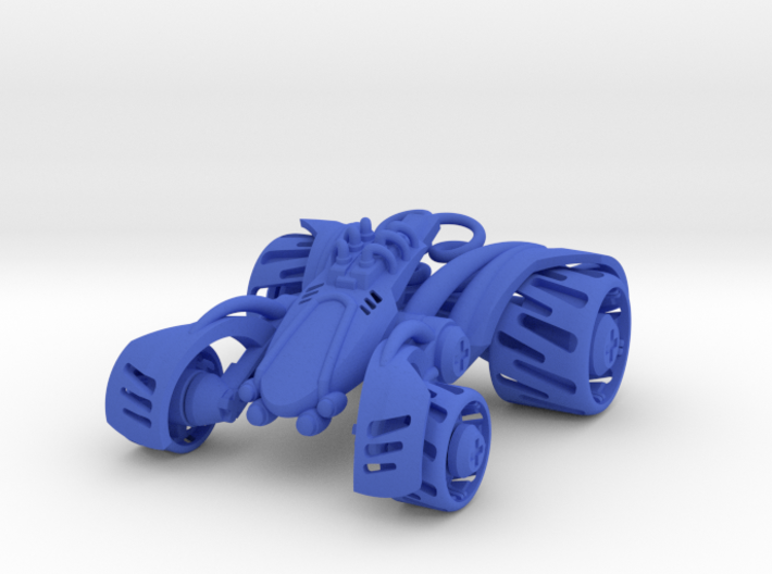 ~Double Shock Car 3d printed