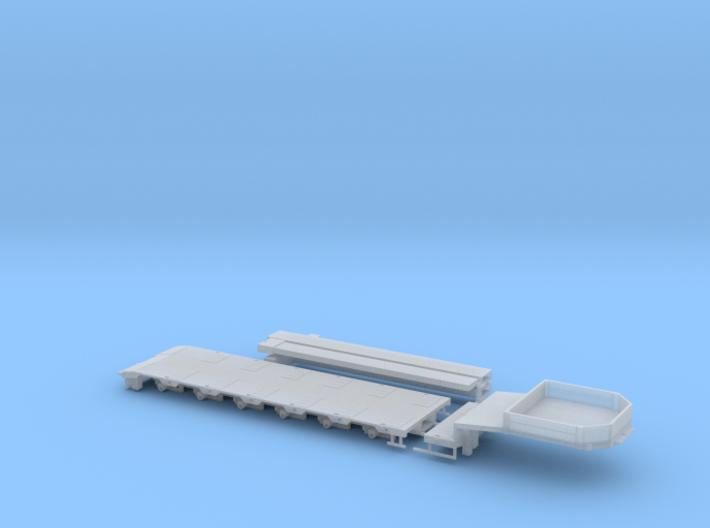 G 002-1 Tieflader ähnlich Goldhofer 6 achs Kurz V1 3d printed