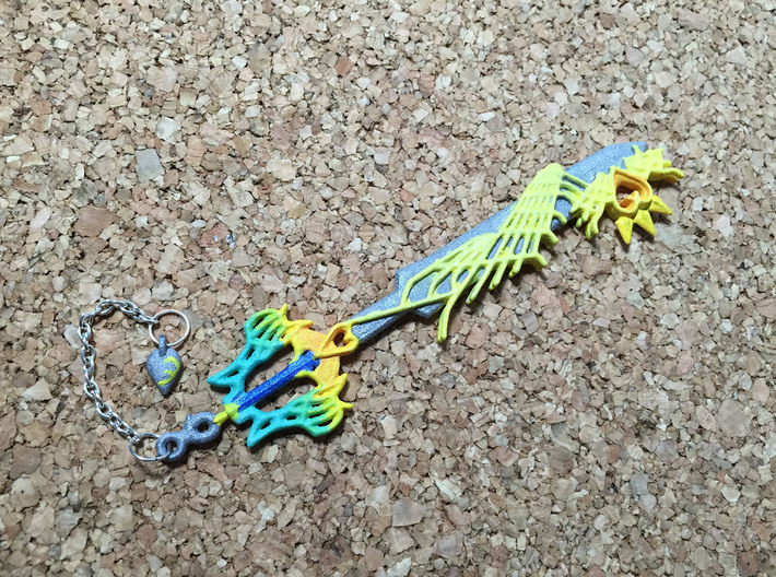 KH Keyblade Ultima pendant 3d printed
