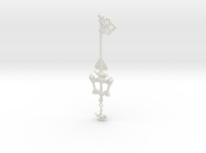 KH Keyblade Wishing Lamp Pendant 3d printed