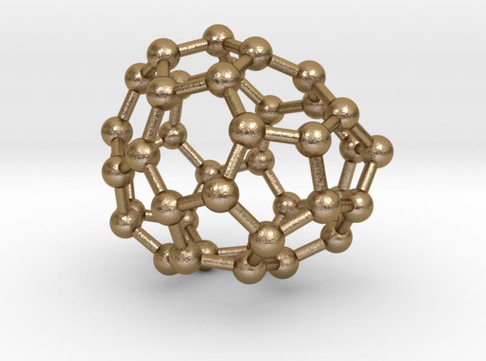 0116 Fullerene C40-10 c1 3d printed