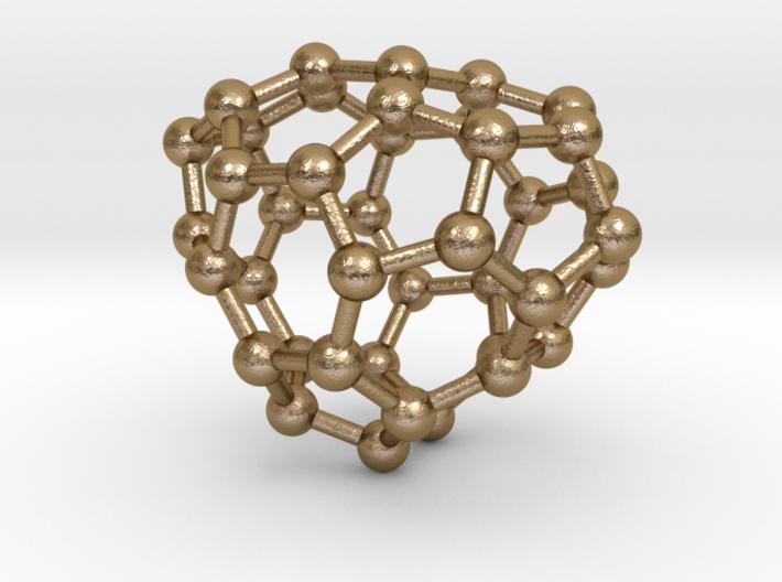 0120 Fullerene C40-14 cs 3d printed