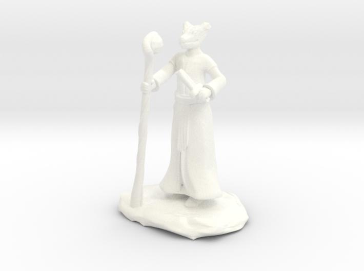 D&D Dragonborn Sorcerer Mini 3d printed