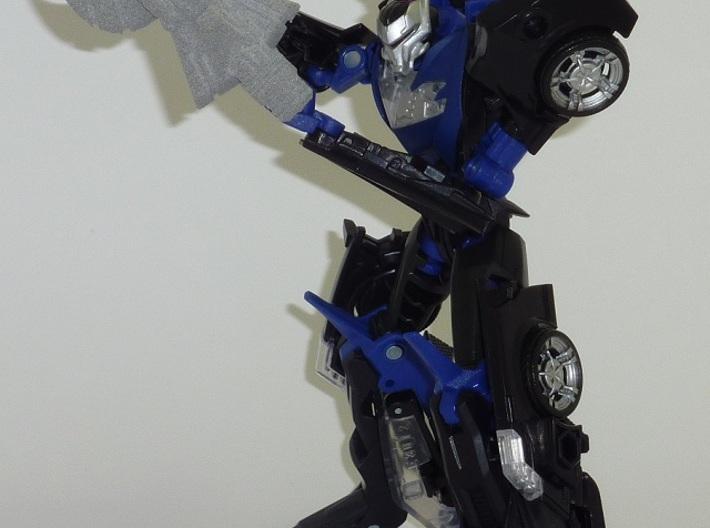 Crash Cannon 3d printed