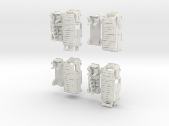 1-220 R-Estafette Fourgon Emergency SET 3d printed