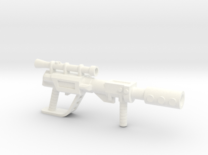 Battle Ram Driver´s Rifle  3d printed