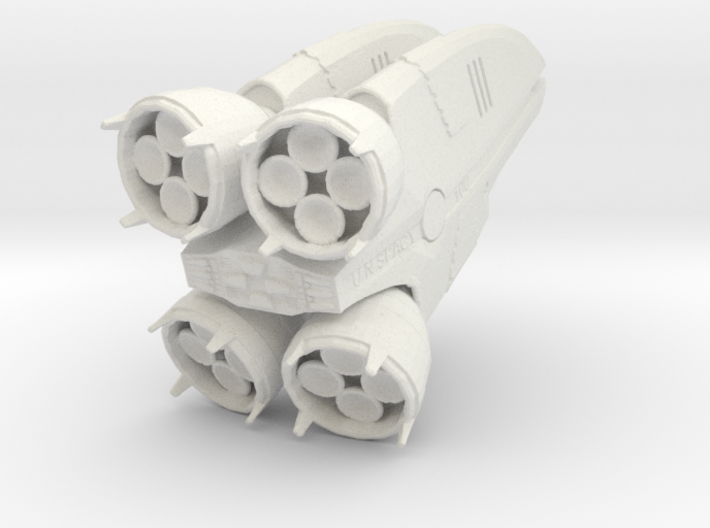 Atmospheric Booster: Booster Only 3d printed