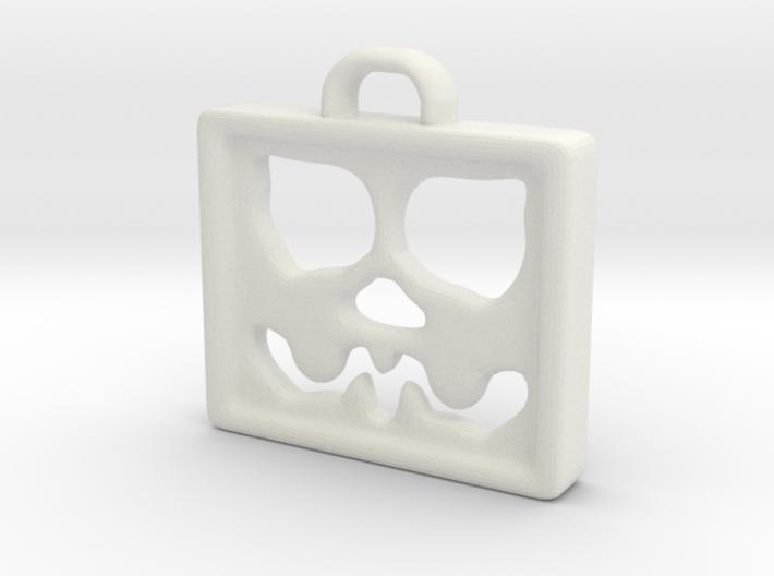 Face Pendant 3d printed