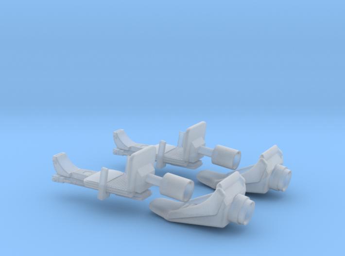 YT1300 DEAGO CABIN COCKPIT SEATS 3d printed