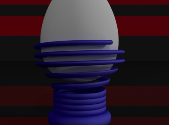 Spiral Egg Holder Type 2 3d printed