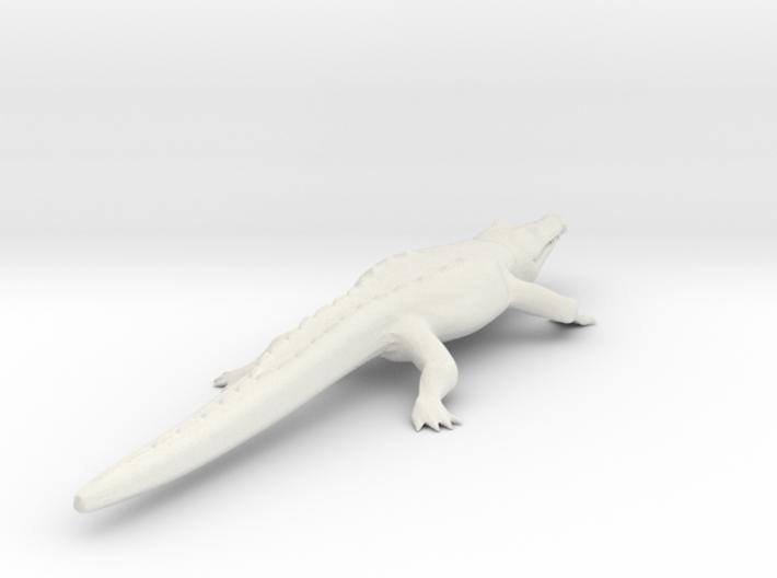 Crocodile 3d printed