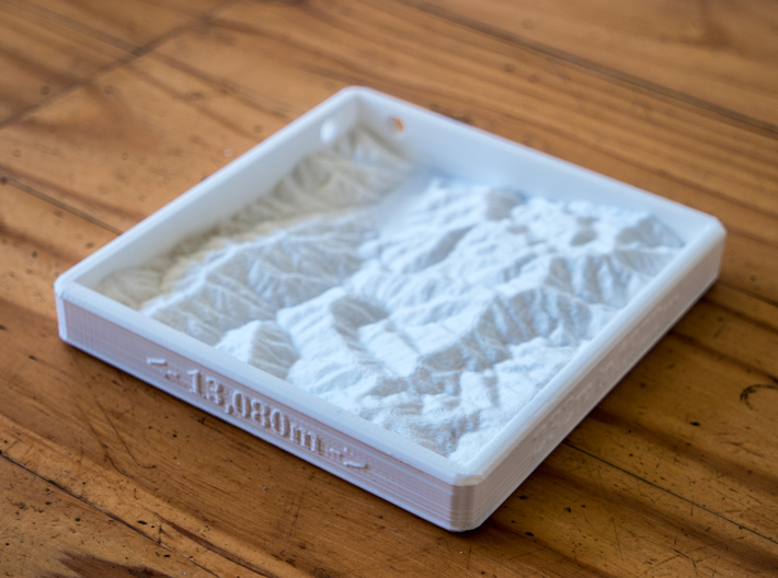Mt. Feathertop 3d printed