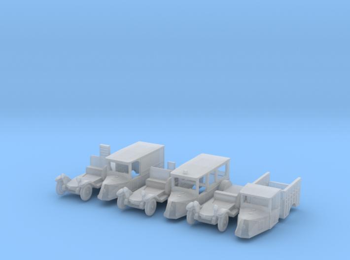 SET 3x Renault OS (N 1:160) 3d printed