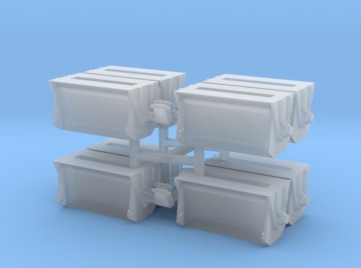 #2 Ballast Gate Miner Type Short [2 cars] 3d printed