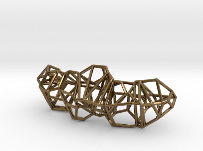 Voronoi Framework Pendent 3d printed