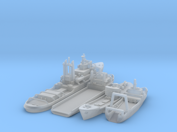 Cod War set 4 1/1250 3d printed