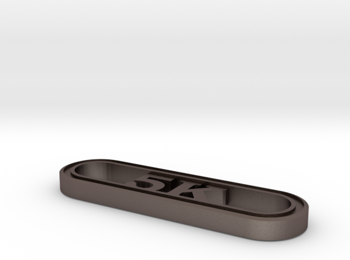 5K Runner's Keychain 3d printed