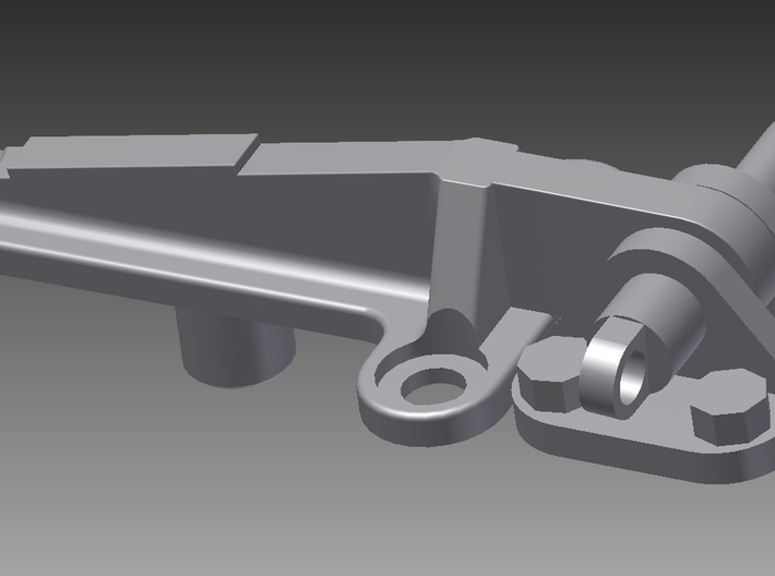 Casing Clip Assembly 3d printed