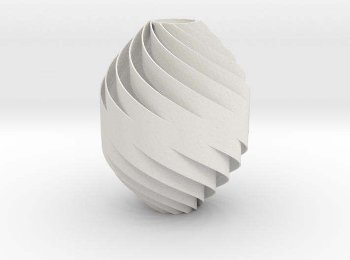 Spiral-Twisted Decor Normal Size (1 mm wall) 3d printed