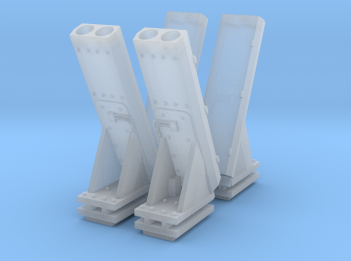 1:72 MK53 NULKA Launchers - set of 2 3d printed