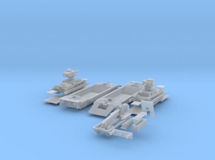 1-148 2x Pz-Tr-W+Pz38t+Schienen 3d printed