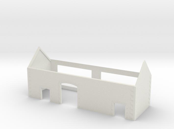 Charente Barn - WSF - Nm - 1:160 3d printed
