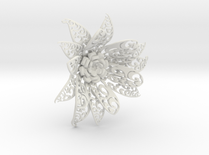 Flowers 3d printed