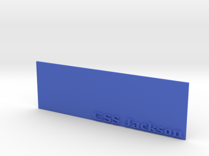 Base for 1/600 CSS Jackson 3d printed
