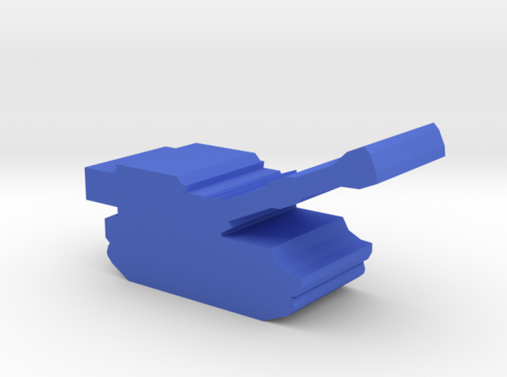 Game Piece, Blue Force Paladin Artillery 3d printed