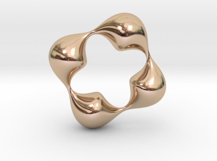0057 Antisymmetric Torus (p=4.0) #006 3d printed