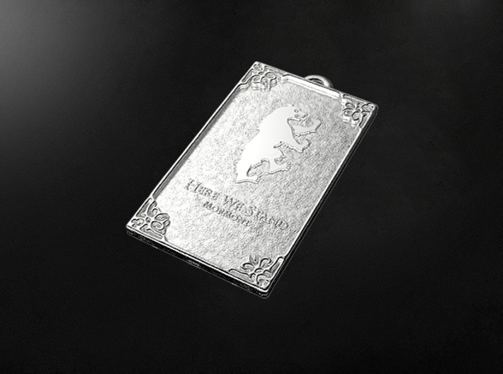 Game of Thrones - Mormont Pendant 3d printed