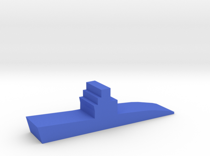 Game Piece, WW2 Submarine 3d printed
