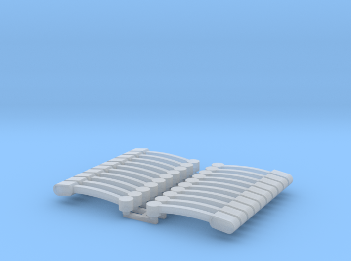 Flasher Bar 10 Pack 64th Scale 3d printed