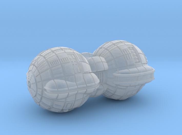 Terran (TFN) Battleship 3d printed