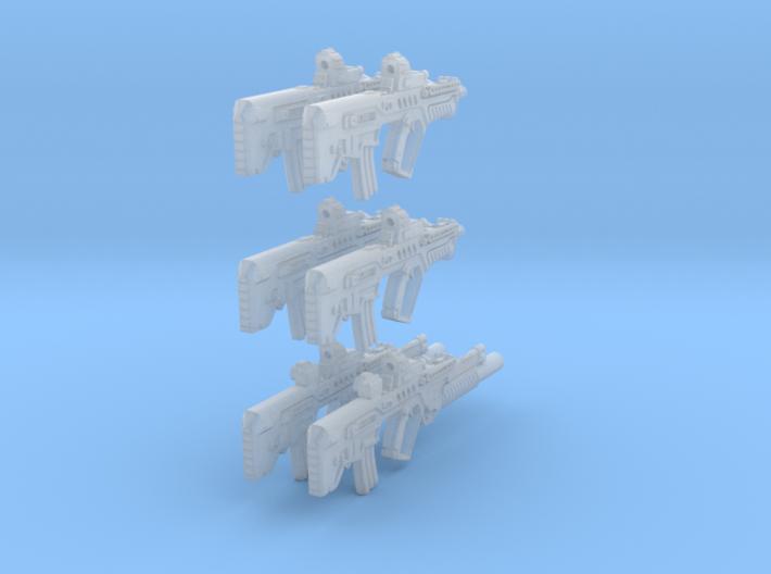 1-18 Tar21Tavor SET 3d printed