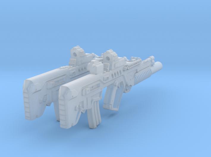 1-10.5 Tar21Tavor SET 3d printed