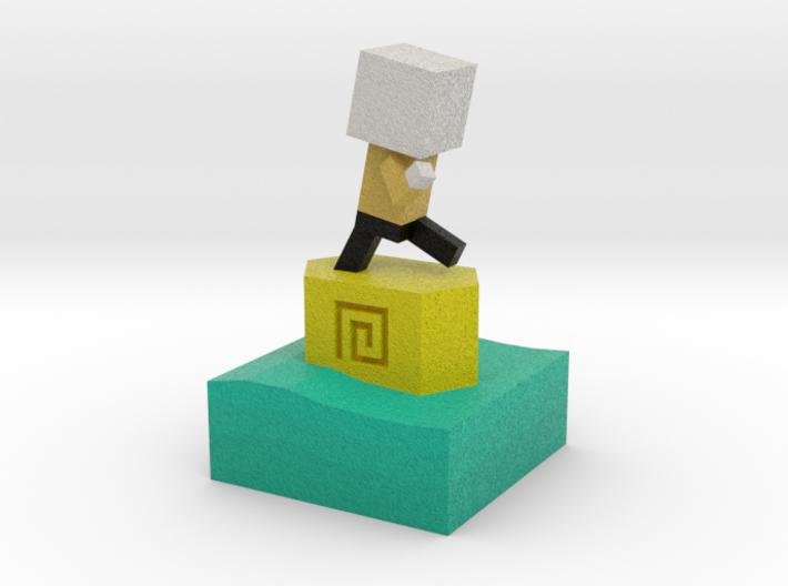 Mr Jump - Level 5 3d printed