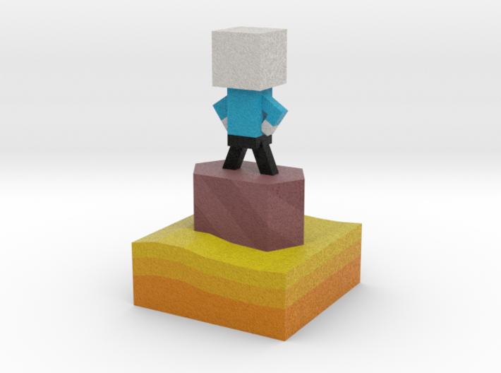Mr Jump - Level 3 3d printed