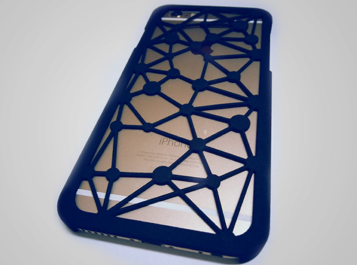 iPhone6 case_connecting dots 3d printed Add a caption...